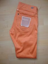 G-Star Raw 'Lynn Skinny' Womens Tangerine (Orange) Jeans W25 L34 BNWT RRP £100
