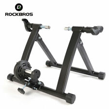 RockBros Turbo Trainer Indoor Cycling Bike Magnetic Resistance Trainer Black