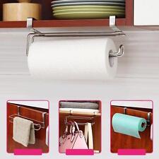Stainless Steel Closet Tissue Hanging Hook Holder Bathroom Roll Paper Rack LSUS