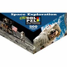 Space Exploration Pigment & Hue Double-Sided Puzzle 500 Pieces XTRM DBL PZL