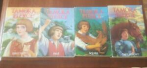 x4 Protector of The Small Books 1-4 Set Tamora Pierce Softcover Set