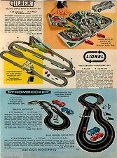 1967 ADVERT Gilbert James Bond 007 Lionel Strombecker Race Car Raceway Toy Sets