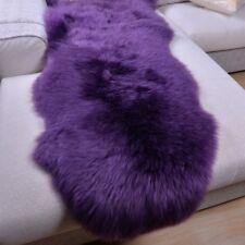 100% Real Sheep Fur Genuine Australian Pelt Sheepskin Rug Seat Bed Pad Carpet