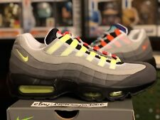 half off 194e9 18fbd Nike Air Max 95 OG QS Sz 8.5 Greedy What The Grape Vapor Neon Federer RF