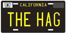"Merle Haggard ""THE HAG"" Bakersfield California 1969 License plate"