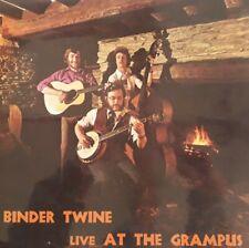 Binder Twine Live At The Grampus Vinyl LP.1978 Sentinel SEN LPP 509.Brown Eyes+