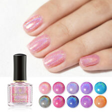 BORN PRETTY 6ml Holographicss Nail Polish Glitter Shimmer Laser Nail Art Varnish