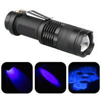 LED ultra violet UV 365 nm BlackLight lampe de poche lampe d'inspection torch hn