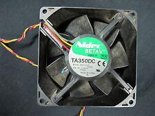 NIDEC BETAV TA350DC 12volt DC Fan 0.55amp MODEL : M35172-57   92 x 92 x 25mm