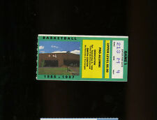 9/6/1986 Dean Smith Center Dedication & Pro-Alumni Game Ticket - Michael Jordan
