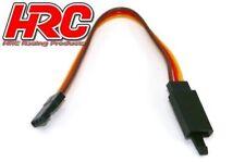 HRC Servo Verlängerungs Kabel - mit Clip -Männchen/Weibchen - JR typ -10cm Länge