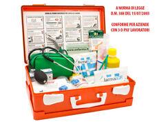 FARMA 2 di ONFARMA - Cassetta medica primo pronto soccorso aziende +3 dipendenti