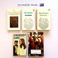 D H LAWRENCE Book Lot ~ Penguin. Sons & Lovers Trespasser.
