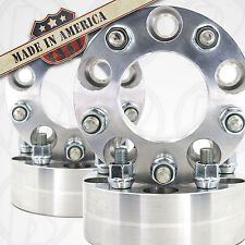 "4 USA MADE JEEP Patriot 5 x 4.5"" Wheel Adapters 2"" Spacers 12mm 1.5 Studs & Nuts"