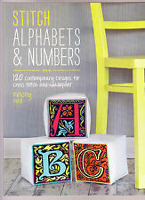 Stitch Alphabets & Numbers - Contemporary cross stitch BOOK - Felicity Hall