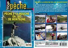 DVD Pêche à la mouche en lac de montagne  - Pêche a la mouche - Top Pêche