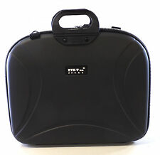 "EYE T RIGID EVA MOULDED LAPTOP NOTEBOOK CASE BAG FOR 15.6"" SHOULDER STRAP"