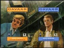 CORONATION STREET Stamp Sheet: David Barlow & Jerry Booth (1995 Davaar Island)