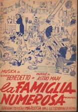 LA FAMIGLIA NUMEROSA - Lino Benedetto e Astro Mari (1950)