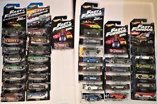 Hot Wheels Walmart Fast & Furious lot 37 - 350Z R34 Supra Mustang S2000 Skyline
