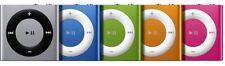 Apple iPod Shuffle - 4. Generation & Orange, 2 GB, gebraucht