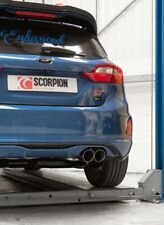 Ford Fiesta MK8 ST scorpion exhaust GFB back WITHOUT valve        SALE
