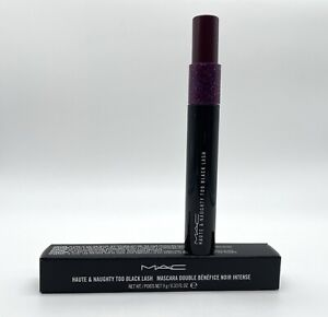 MAC Haute & Naughty Too Black Lash Mascara 9g/0.33 Fl Oz.New In Box