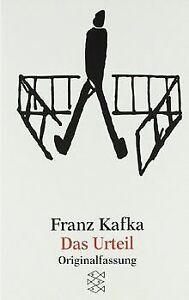 Das Urteil: und andere Erzählungen von Franz Kafka | Buch | Zustand gut