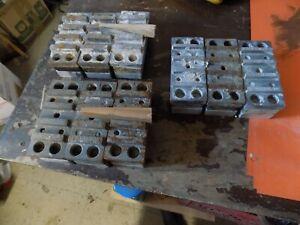 EDCO Floor Grinder Concrete diamond teeth three sets