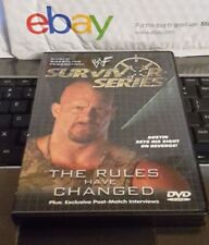 WWF - Survivor Series 2000: The Rules Have Changed (DVD, 2001)