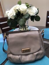 Marc by Marc Jacobs New Q Lil Ukita Shoulder Handbag Cement Grey NWT
