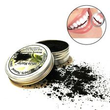 Activated Charcoal Whitening Tooth Powder Herbal Clean Toothpaste Teeth Care 20g