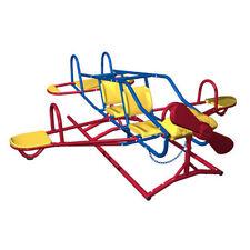 Seesaw Teeter Totter Airplane Playground Equipment Rocker Backyard Kids Toddler