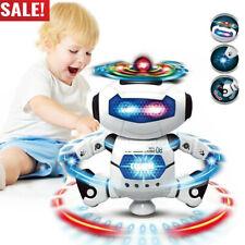 Toddler Robot Dancing Toys For Boys Girls Robot Kids Musical Toy Birthday Gifts