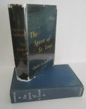 Charles A. Lindbergh THE SPIRIT OF ST. LOUIS, 1953 1st Ed in DJ