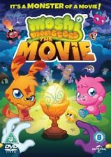 Moshi Monsters: The Movie [DVD] Good PAL Region 2