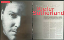 Clippings cuttings - KIEFER SUTHERLAND #01 - 9 pages