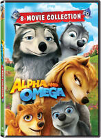 Alpha And Omega: 8 Movie Collection [New DVD] 2 Pack