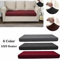 Waterproof Seats Stretchy Sofa Seat Cushion Cover Couch Slipcovers Protector