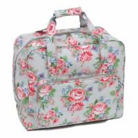 33 x 45.7 x 20.32 cm Padded Sewing Machine Carry Bag in a Durable Navy Fabric with Polka Dots Sew Stylish PT660-NAVY-POLKA
