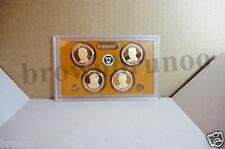 2015-S Proof Presidential Dollars 4 Coins Truman Eisenhower Kennedy NO BOX / COA