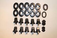 Military Common Sense Curtain Fasteners, Lot of 10, Black,  Military Jeep