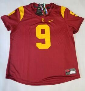 Nike USC Trojans #9 football Women's Size Medium Jersey AR3788-699 Ret $100