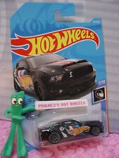 '10 FORD SHELBY GT500 SUPER SNAKE #192 ✰black 🏁Race Team✰2019 i Hot Wheels Q/A