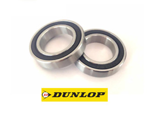 PAIR OF DUNLOP 61901-2RS (6901-2RS) THIN SECTION HIGH QUALITY BEARINGS 12X24X6MM
