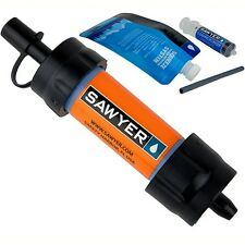 Sawyer SP103 Mini Water Filter Orange Reusable Squeeze Pouch