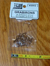 """Tichy Train Group #2002 (O Scale)Grab Irons - Formed .020"""" Phosphor-Bronze Wire"""