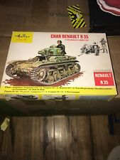 Heller 1:35 #798 Char Renault R 35  Open Box Used Complete Md151