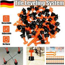 50-400 x Nivelliersystem Verlegehilfe Fliesen Verlegen Plan System Keile Laschen