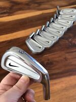 Nike Golf Forged By Miura Iron Heads 2~P Set Stunning Condition Heads Only Tour!